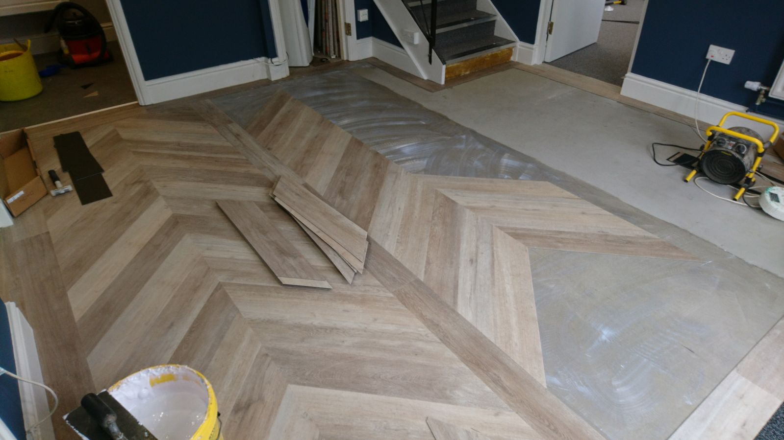 Luxury Vinyl Tiles Installation Process