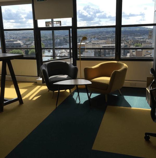 New carpet for Bristol web development company