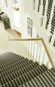 Fully Carpeted Stairs
